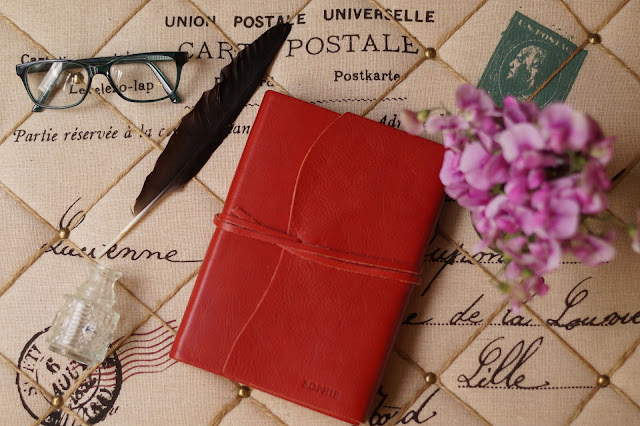 Central Crafts leather journal review