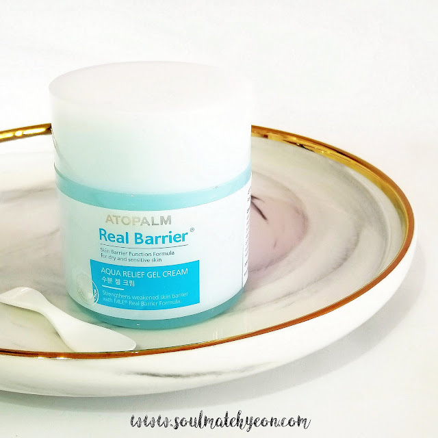 Review; Atopalm Real Barrier's Aqua Relief Gel Cream
