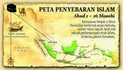Sejarah Masuk dan Berkembangnya Islam di Indonesia