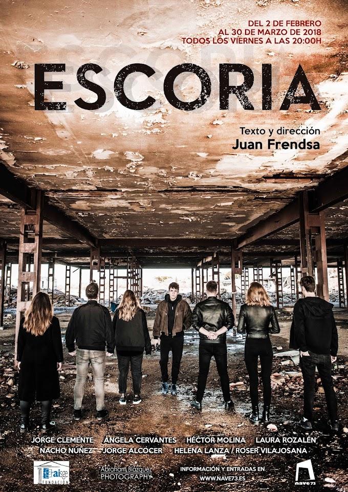 "Teatro: ""Escoria"" en Nave 73"