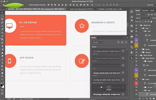 Fontea Photoshop Plugin ile Google Fontları Photoshop'a Ekleyin