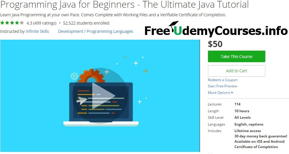 Udemy Favorite] Programming #Java for Beginners - The Ultimate Java