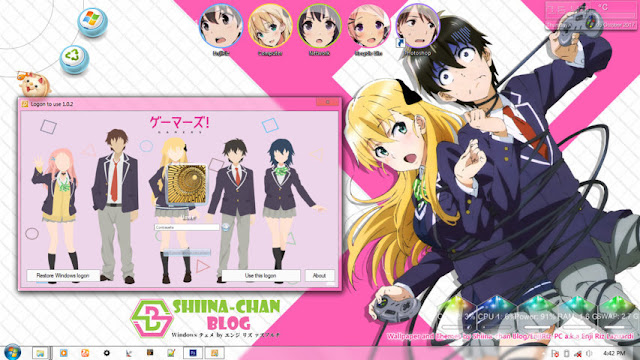 Gamers! Theme Win 7 by Enji Riz Lazuardi