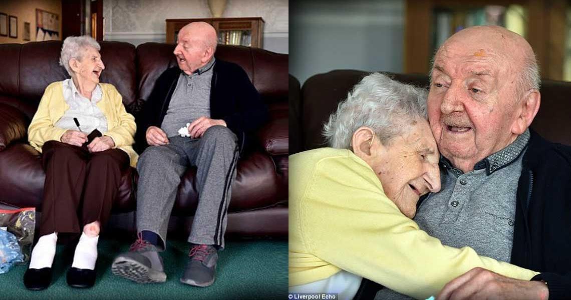 98χρονη μητέρα μπήκε σε γηροκομείο για να προσέχει τον 80χρονο γιο της