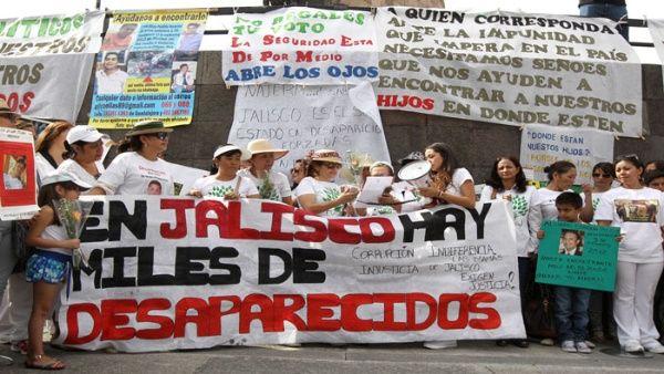 Gobierno de México reporta más de 40.000 desaparecidos