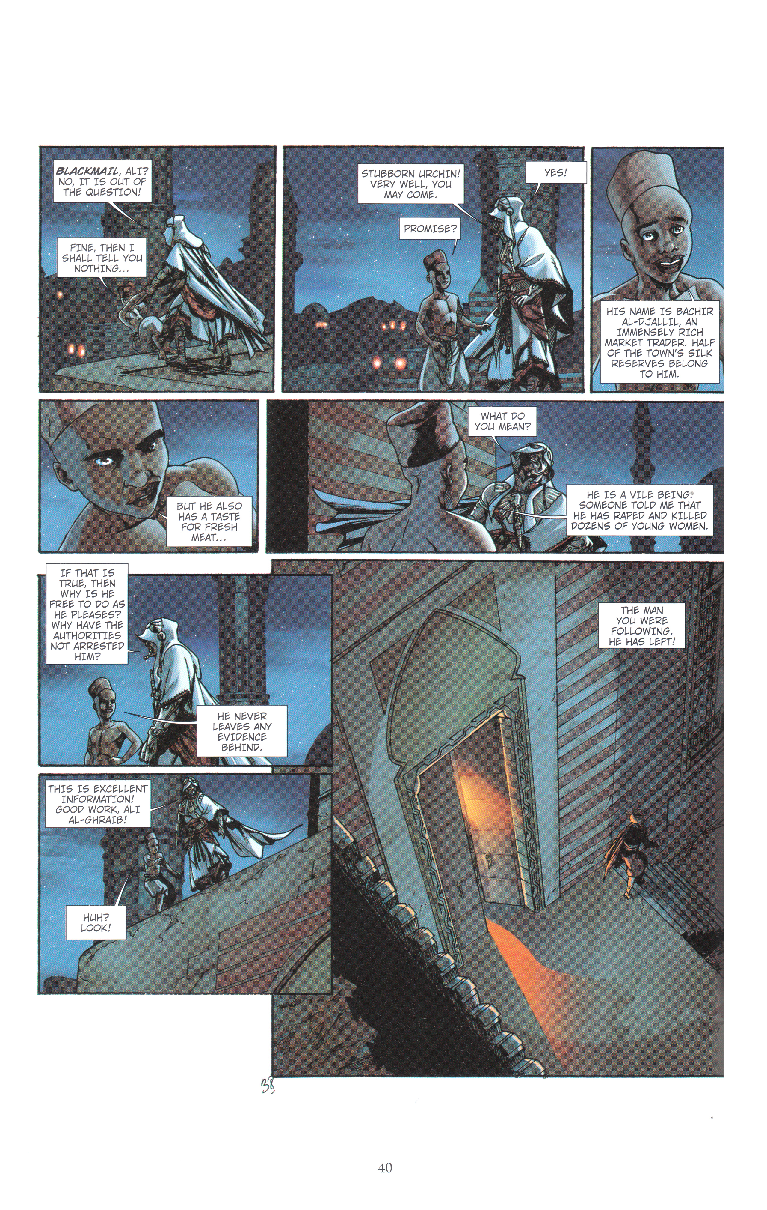 Read online Assassin's Creed (2012) comic -  Issue #4 - 40