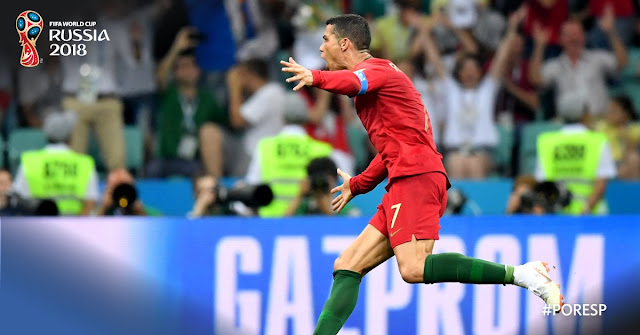 Portugal 3-3 Spain: Ronaldo nets hat-trick (Official Match Highlights)
