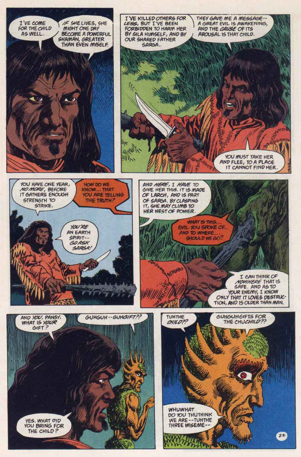 Swamp Thing (1982) Issue #91 #99 - English 21