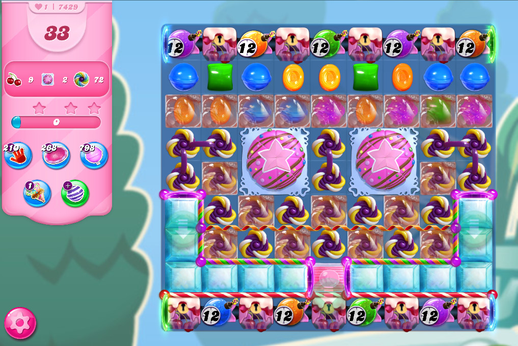 Candy Crush Saga level 7429