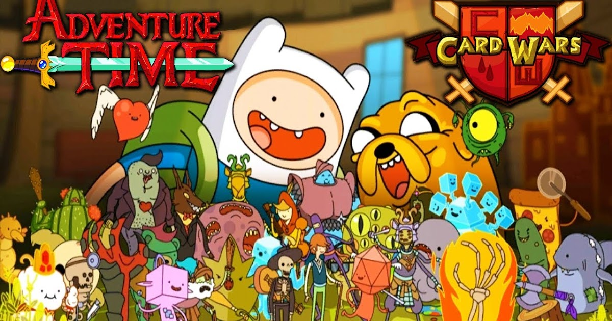 Free Download Game Android Card Wars Adventure Time MOD