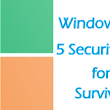 5 Security Tips for Windows XP Survival as the Support Ended - Secure PC - Unlock Your System Protection