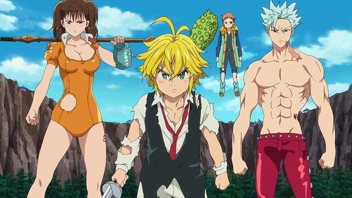 Sakuranime, Nanatsu no Taizai ( The Seven Deadly Sins )