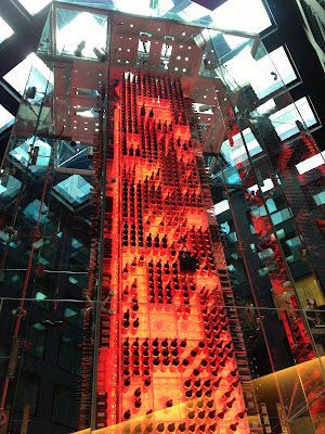 The Angels Wine Tower at the Radisson Blu