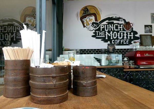 Punch in the Mouth Coffee at Duke and Duchess, Durban
