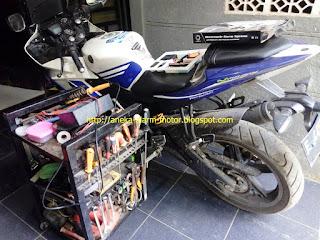 Cara pasang alarm motor pada Yamaha R15