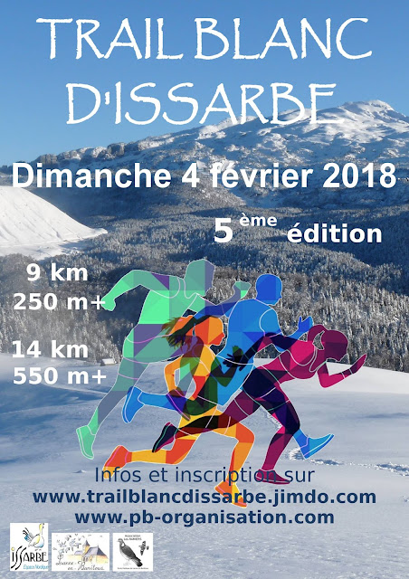 Le Trail blanc d'Issarbe Béarn 2018