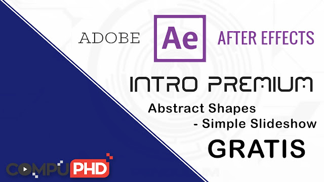 Intro Abstract Shapes - Simple Slideshow Gratis