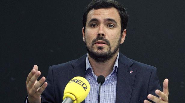 """Alberto Garzón: """"La élite económica de España es la del franquismo. No hubo ninguna Transición"""""""
