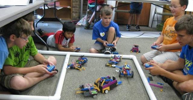 USFamilyGuide.com, robotics camp, #robots4u