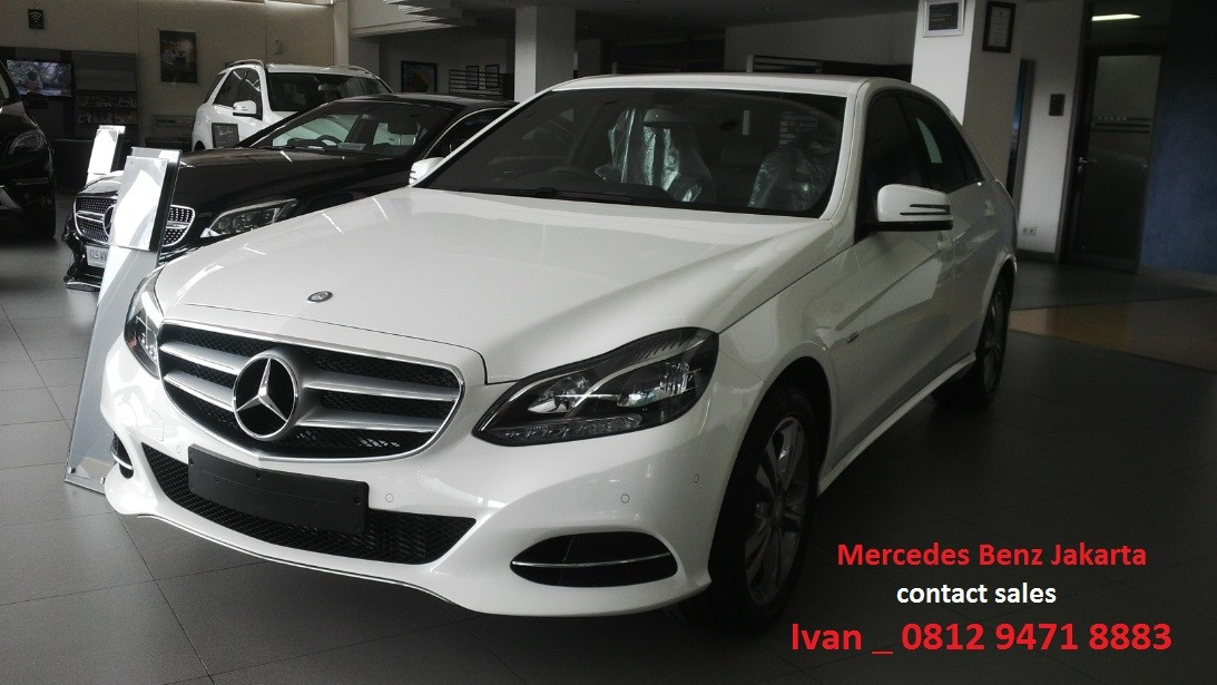 W212 mercedes benz e class indonesia 2016 dealer for Dealer mercedes benz