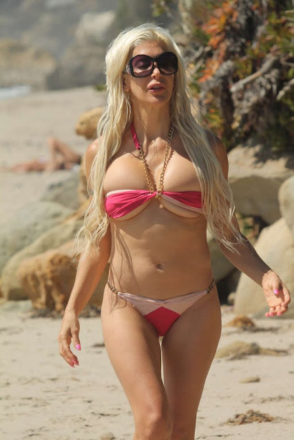 Angelique Frenchy Morgan in Bikini