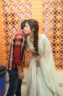 Raashi Khanan looks stunning in Crop Top Deep neck Choli Ghagra Transparent Chunni WOW ~  Exclusive Celebrities Galleries 059.JPG