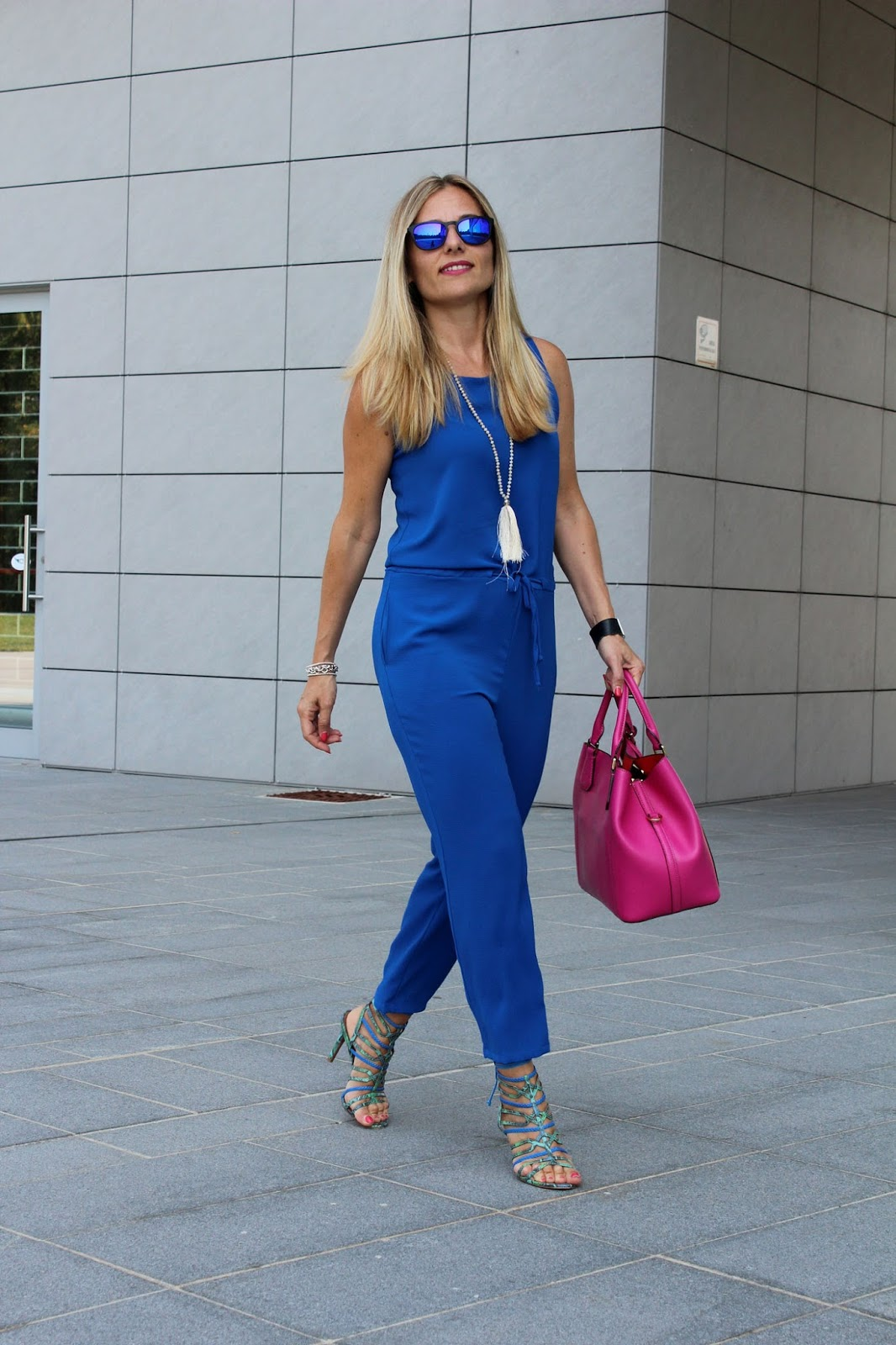 Eniwhere Fashion - Tuta bluette - Le favole di Alice