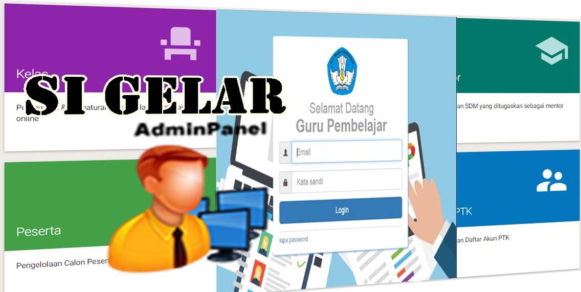 Panduan Admin Si Gelar Sistem Guru Pembelajar Online Kurikulum 2013 Revisi