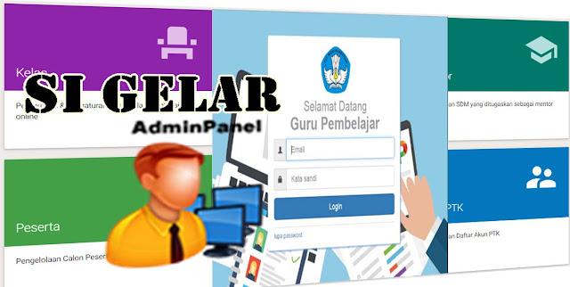 Panduan Admin Si Gelar, Sistem Guru Pembelajar Online