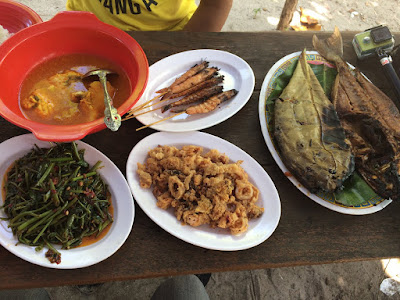Menu Lunch Rp 140.000 - Belitung