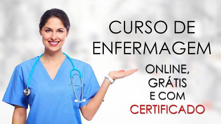 Curso grátis e online de Enfermagem - com CERTIFICADO
