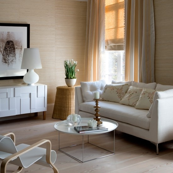Simple Details: the key to mixing cream and white in decor ...