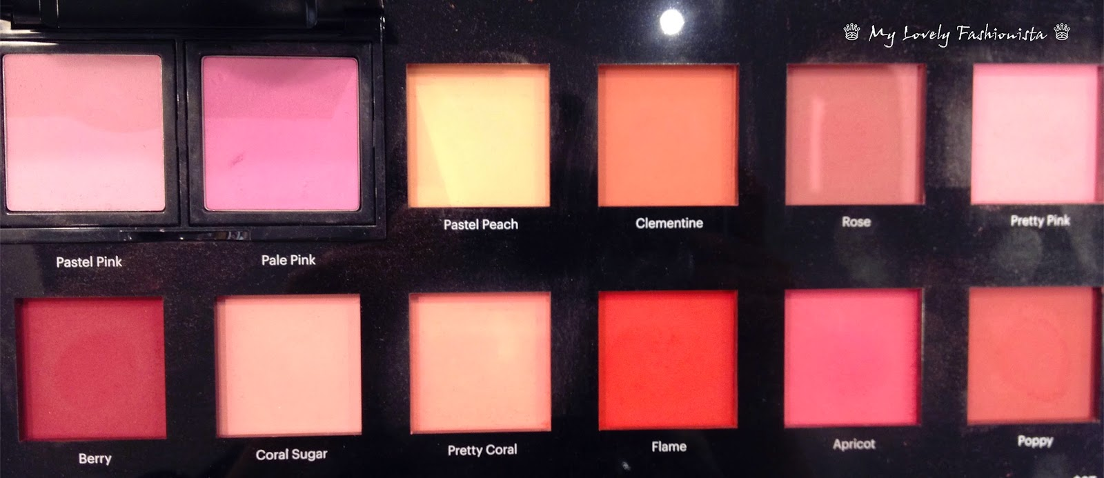 Bobbi Brown Blushes Pastel Pink Pale Pink Pastel Peach Clementine Rose Pretty Pink Berry