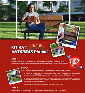 KIT KAT My Break Promo, Philippines contest promo