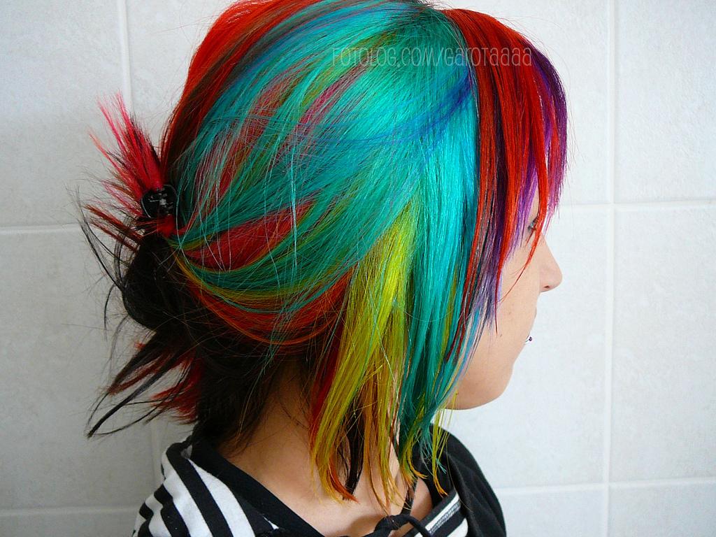 Following The Rainbow The Haircut Web