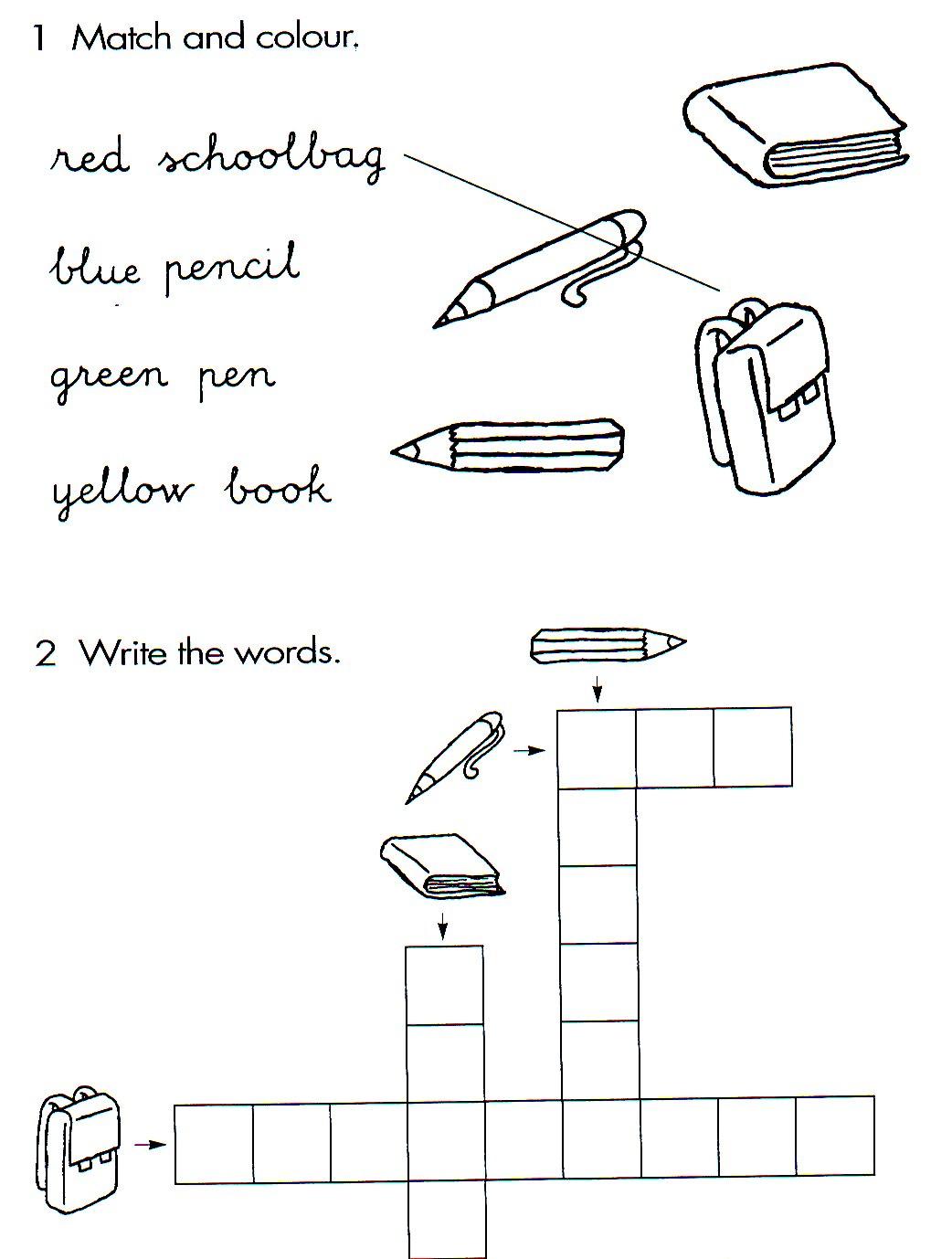 Meu Caderninho De Aulas Atividades School Objects