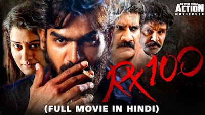 RX 100 2019 Hindi Dubbed WEBRip 480p 400Mb x264