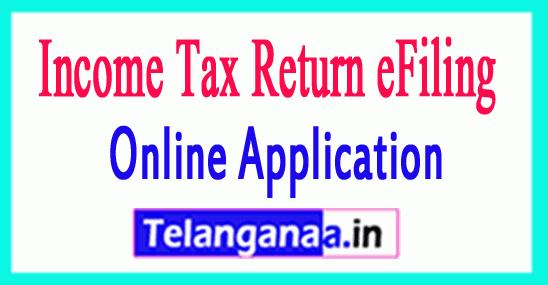 Income Tax Return eFiling  efile tax return