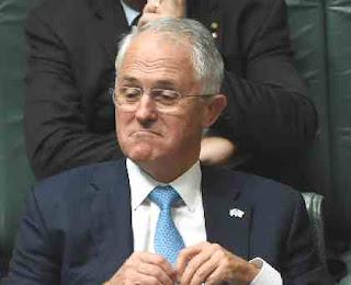 Smug Malcolm Turnbull