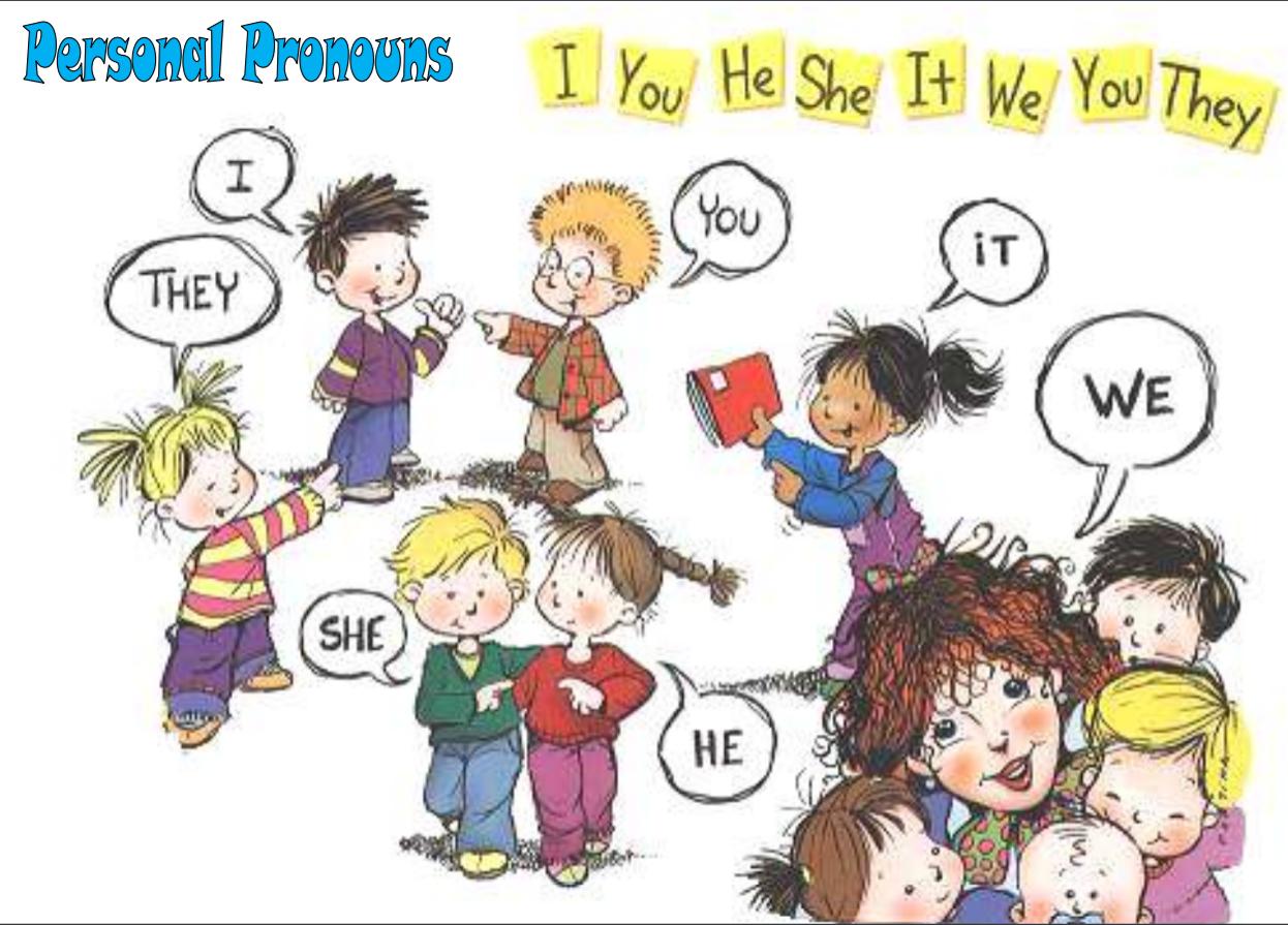 Miteachertieneunblog Personal Pronouns Poster