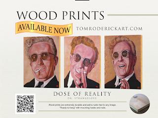 Dr. Stangelove by Boulder portrait artist Tom Roderick