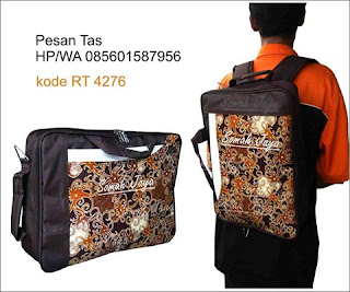 tas seminar batik kit murah ransel slempang batik lurik pelatihan diklat dinas kantor