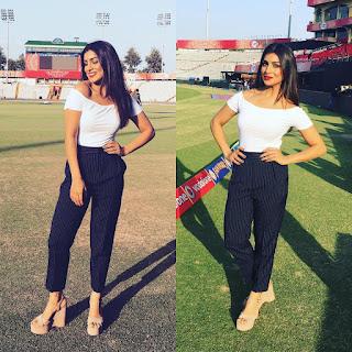 Pallavi Sharda new IPL Babe Stunning Pics from VIVO IPL 2016