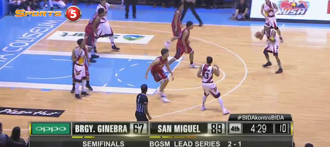 San Miguel def. Ginebra, 101-72 (REPLAY VIDEO) October 2 - SEMIS Game 4