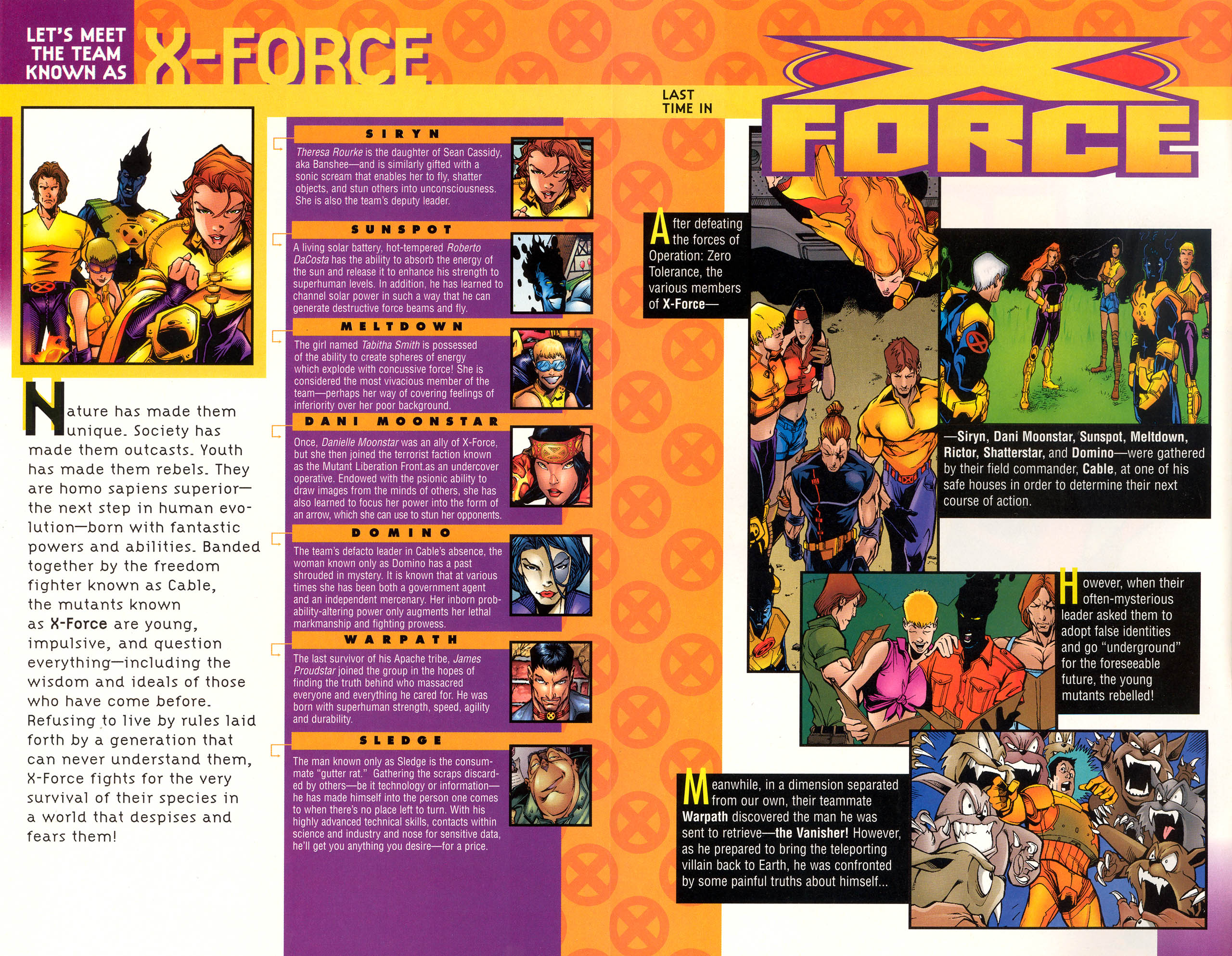 Read online X-Force (1991) comic -  Issue #71 - 4