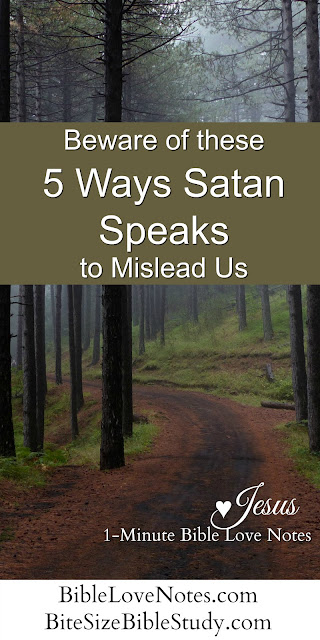 Satan's tricks, Satan twists Scripture