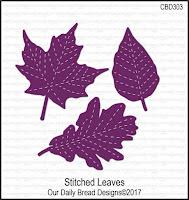 ODBD Custom Stitched Leaves Dies