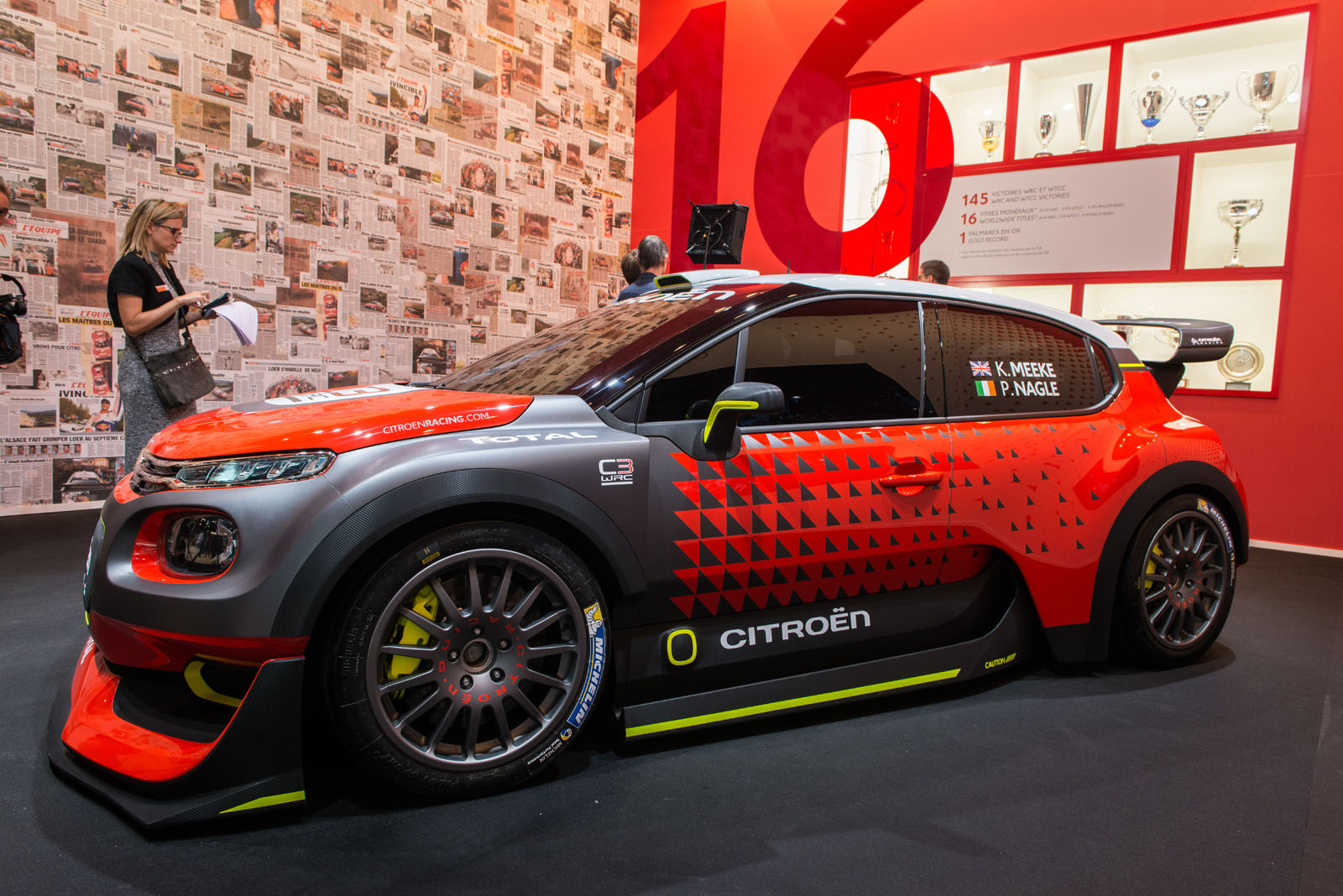 citro n c3 wrc concept previews a return to rally dominance carscoops. Black Bedroom Furniture Sets. Home Design Ideas