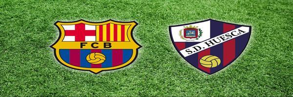 برشلونة يسحق هويسكا بالدورى الإسبانى