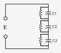 condensadores en serie con resistencia de compensación